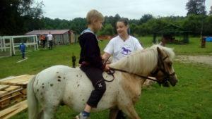 Уроки верховой езды детей на пони. Полесск.