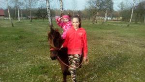 Катание на пони. Полесск. Калининград