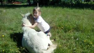Детский отдых в питомнике пони. Полесск.