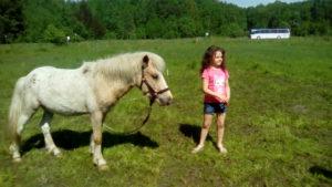 Отдых с детьми на пони ферме. Калининград.