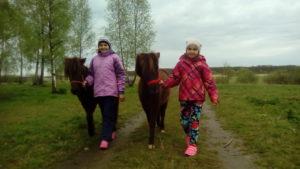 Туры для детей. Пони ферма. Калининград.