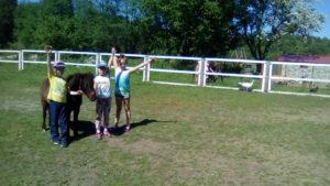 Детский отдых на пони ферме. Калининград.